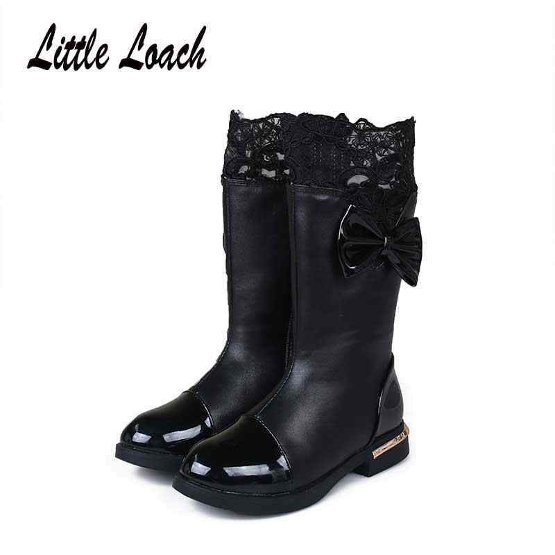Children's Winter Boots for Girls Lace