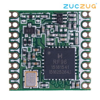 RFM95W/RFM98W 100 MW 433/868/915 MHz alta sensibilidad sx1278/sx1276 Lora módulo ultra larga alcance inalámbrico RF Módulo de transceptor