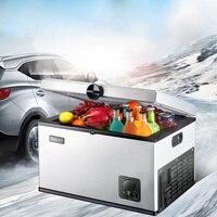 35L 12V 240V Car Refrigerator Compressor Refrigeration Mini Fridge Refrigerating Freezer Mini Portable Cooler Auto Refrigerator