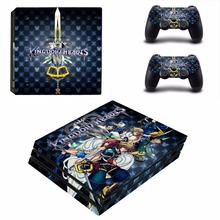 PS4 Pro Skin Sticker PlayStation 4 Pro Console and Controller PS4 Pro Skins Stickers Decal Vinyl – Kingdom Hearts
