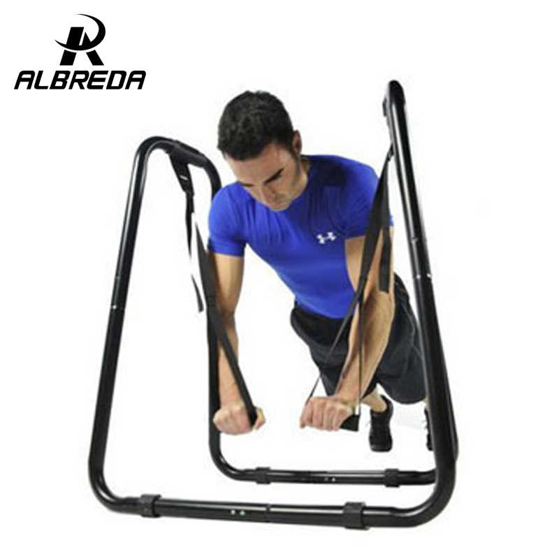 Albreda Nieuwe Dip Bar Door Ultimate Body Druk Indoor Fitness Apparatuur Multifunctionele Dip Oefening Afvallen Split Parallel Bars