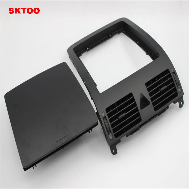 SKTOO For VW Touran 2005 2010 dashboard storage box center console with cover debris box dashboard
