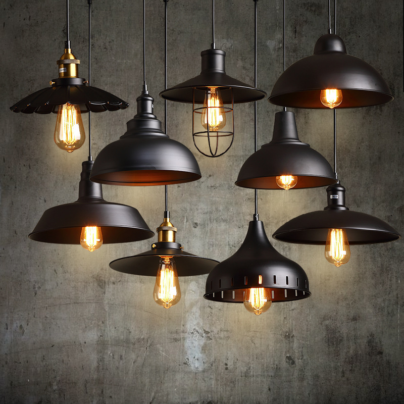 Vintage Pendant Light Nordic Porous Loft E27 LED Iron Etching Lampshade Bar Restaurant Lamp Creativity Style Rust Pendant Lamp nordic loft retro cafe bar iron etching lampshade pendant lamp single head bar restaurant industrial wind rust pendant lights