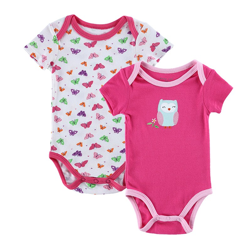 2016 BABY ROMPERS Ropa Bebe Cartoon 100% Cotton Babies Infantil Toddler Girls Clothes Romper Pajamas Clothing Triangle Jumpsuit (2)