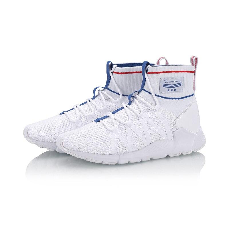 Li-Ning Новый 2018 Для мужчин Спорт Обувь для прогулок Поддержка Спортивная обувь плотно стабильность Li Ning Спортивная обувь Фитнес спортивные Об...