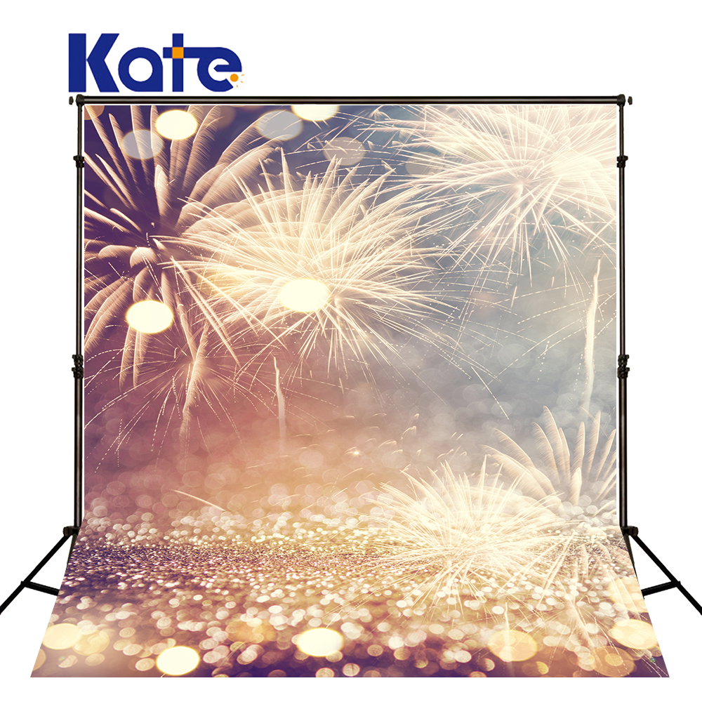 KATE Christmas Photography Backdrop 5x7ft Fireworks Background Bokeh Firecracker Backdrop Outdoor Scenery Backdrops for Photoca kate photo background scenery