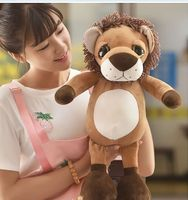 new lovely plush lion toy Q big eyes lion doll gift about 50cm