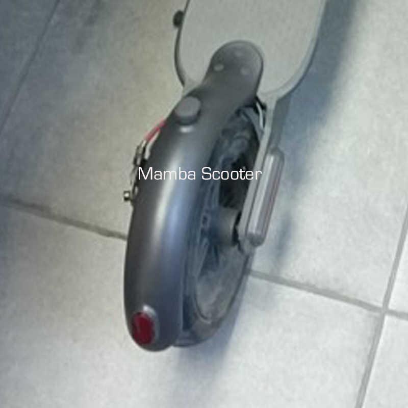 Parafango Anteriore Posteriore Della Parte Posteriore di Protezione Parafango Ala Mensola con Lampada di Coda Posteriore della Luce Freno Posteriore per Xiaomi Norma Mijia Elettrico M365 scooter