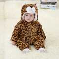 Fashion flannel cotton toddler girl clothing baby snowsuit newborn infant outerwear winter (600-700g)