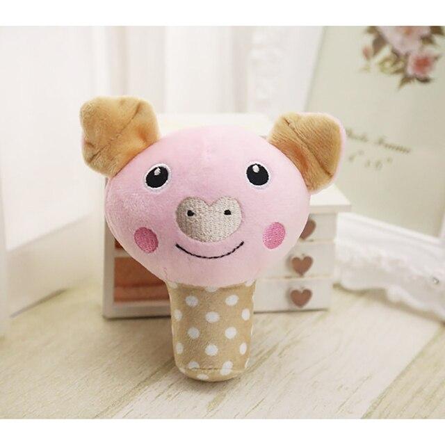 Disegni simpatici Animali Cane Toys Pet Puppy Chew Squeaker Squeak Peluche suono Giocattolo Per I Piccoli Cani Gatti Yorkshire Pet Prodotti-6 stili