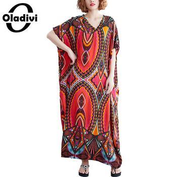 023e694fdb3a Oladivi más el tamaño de las mujeres Blusa camisa Top Color sólido Kimono  Cardigan Blusa playa fina ...