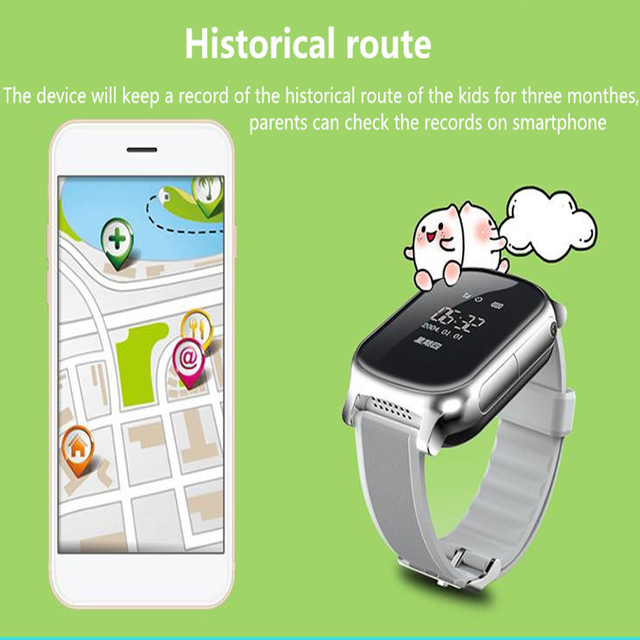 T58 Smart Watch GPS Wifi Smart Tracker Antil-lost Baby Fitness Tracker SOS Children Smartwatch Student Kids Smartwatch.