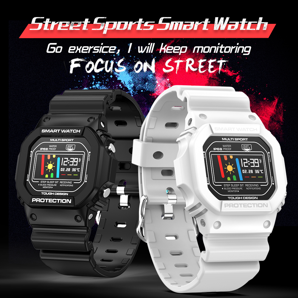 <font><b>X12</b></font> Smart Watch Men 0.96 Inch IP68 Waterproof Sport <font><b>Smartwatch</b></font> Activity Tracker Passometer Smart Watch for IOS Andriod image