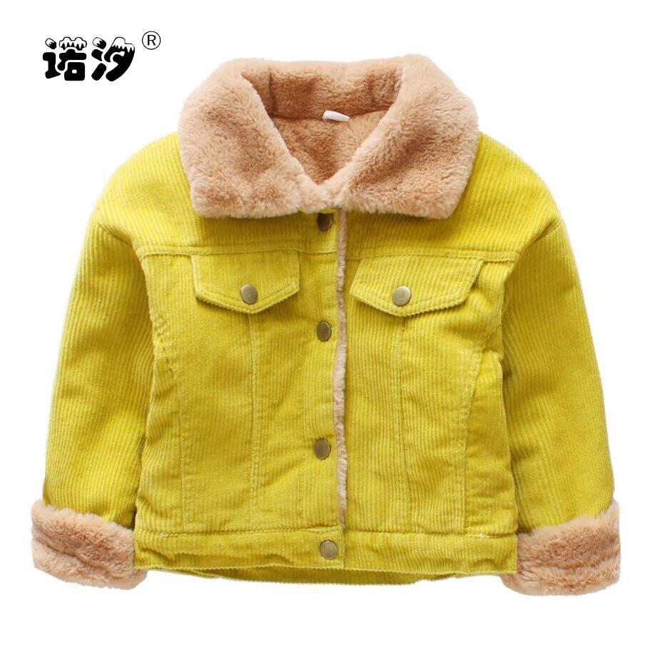 Baby Jungen Jacke Kinder Winter Baumwolle Kleidung Kinder Casual Plüsch Innen Jacke Neue Geboren Baby Mantel Kleidung 1-7 Y Hohe Qualität!