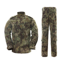 MULTICAM Uniform Serpentine Camouflage Tactics Suit Jungle Snake Pattern Camouflage sets Hunting Fishing Paintball BF1