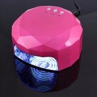 48W CCFL LED Ultraviolet Lamp LED Nail Dryer Nail Lamp Diamond Shaped CCFL Curing for Nails Polish Nail Art Tools