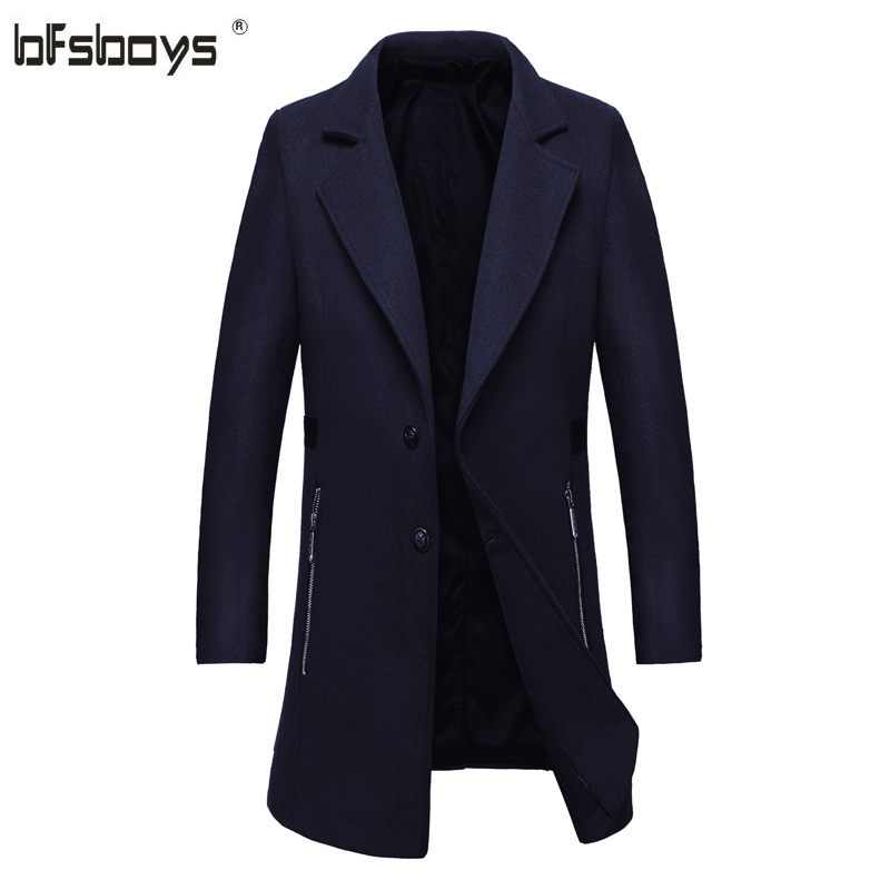 Hot Sale 2016 New fashion Autumn Winter Cultivate one s morality stand Collar Casual single breasted