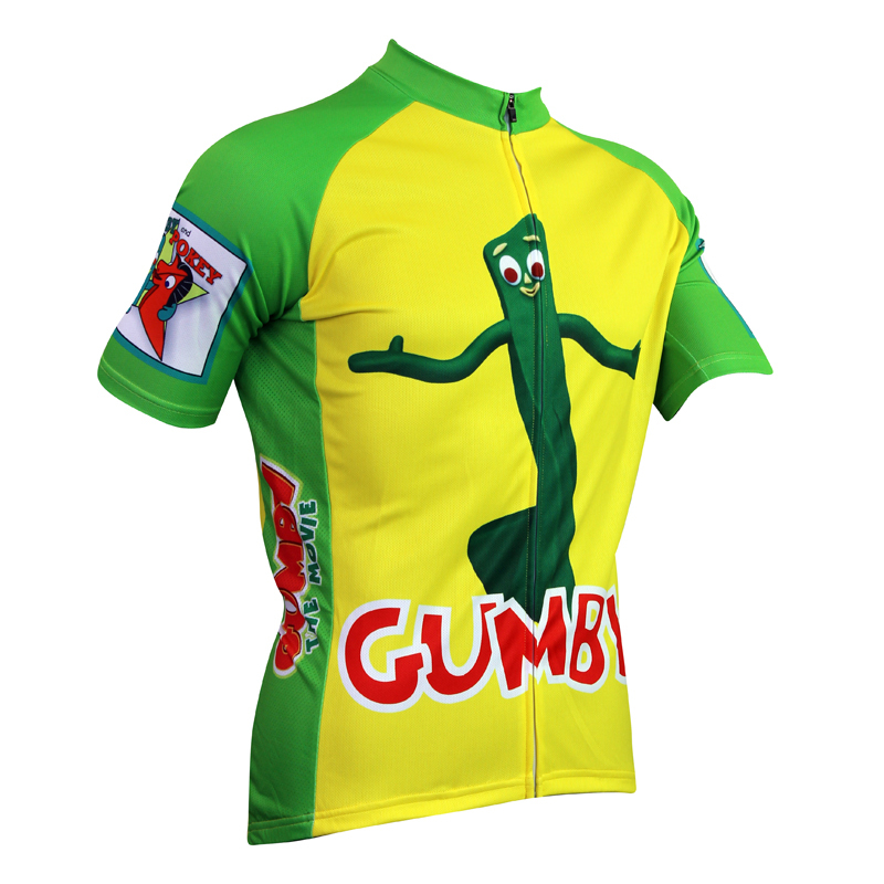 17595648c New GUMBY Alien SportsWear Mens Cycling Jersey Cycling Clothing Bike Shirt  Size 2XS TO 5XL-in Cycling Jerseys from Sports   Entertainment on  Aliexpress.com ...