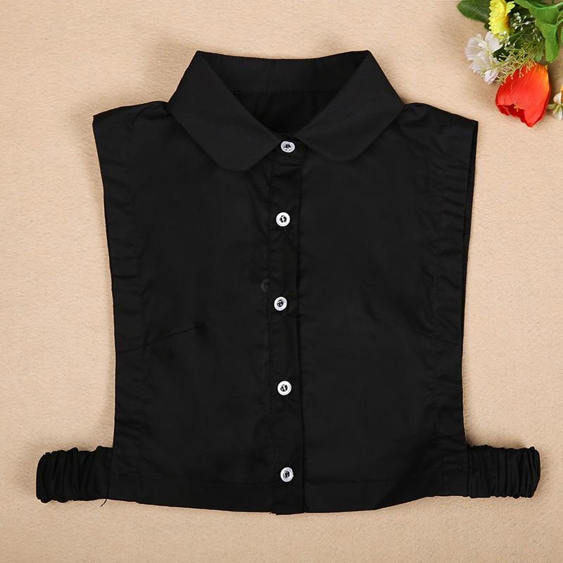 New  Shirt Fake Collar White Black Blouse Vintage Detachable False Collars Necktie Women Men Clothes Accessories Corbatas Hot