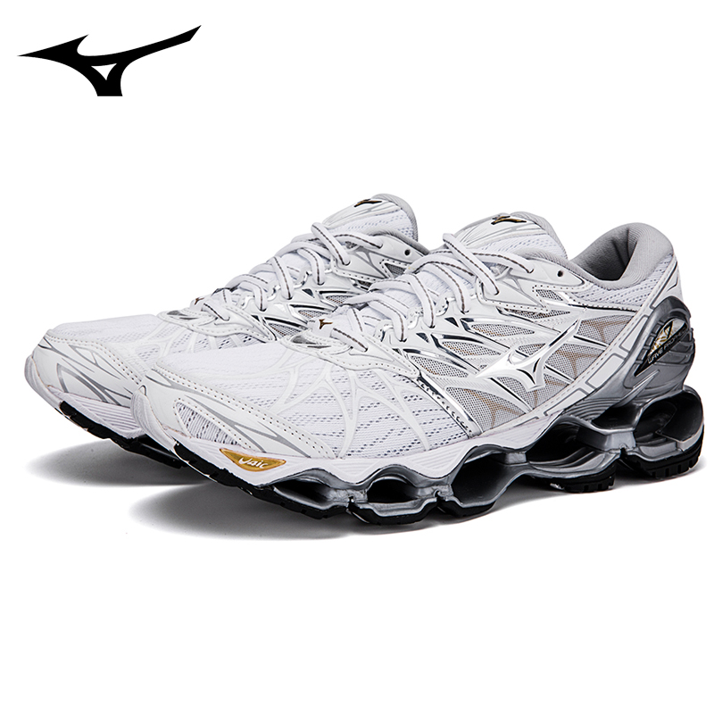Mizuno Wave Prophecy 7 Professional Cheap Women Shoes White Cloros WeightLifting Shoes Sneakers Size 36-41