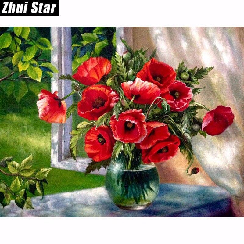 웃 유Новая 5D алмазная картина, вышивка крестиком, красная ...