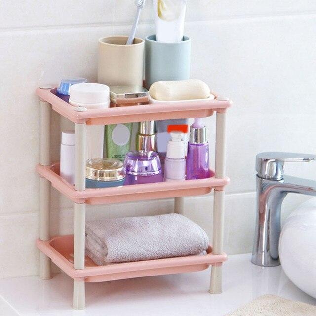 2017 Venta caliente rack organizador cocina despensa baño toalla  almacenamiento rack shampoo estante soporte puede hogar 9a7c7668eee9