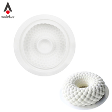 Wulekue Silicone Cake Mold Wave Circle Shape Decorating Mold For Baking Bread Desserts Mousses Bakeware Accessories
