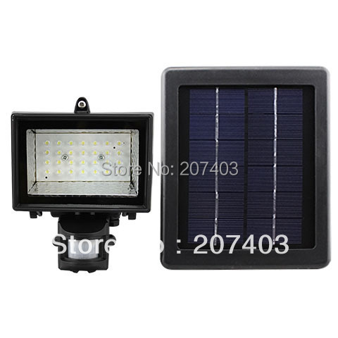 promotion Solar LED Floodlights Security Garden Light with PIR Motion Sensor 28 LEDs outdoor solar security lamps wholesale