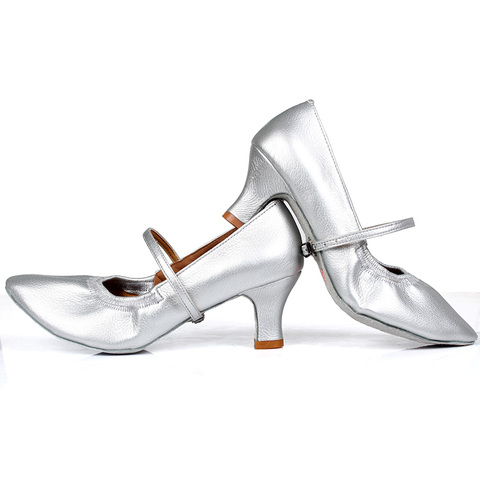 New arrival Brand Modern Dance Shoes Women Girls Dancing Shoes High Heeled Ballroom Latin Dance Shoes For Women 5CM and 7CM Heel Islamabad