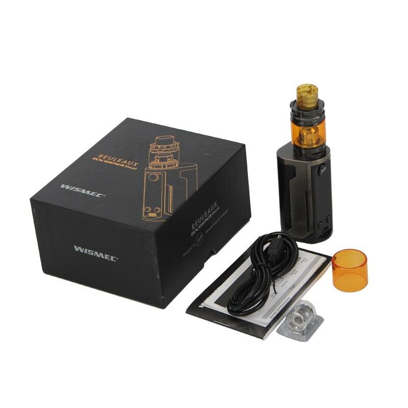 Original Wismec Reuleaux RX GEN3 Dual Kit RX GEN3 Dual Box Mod Vape Powered by Dual