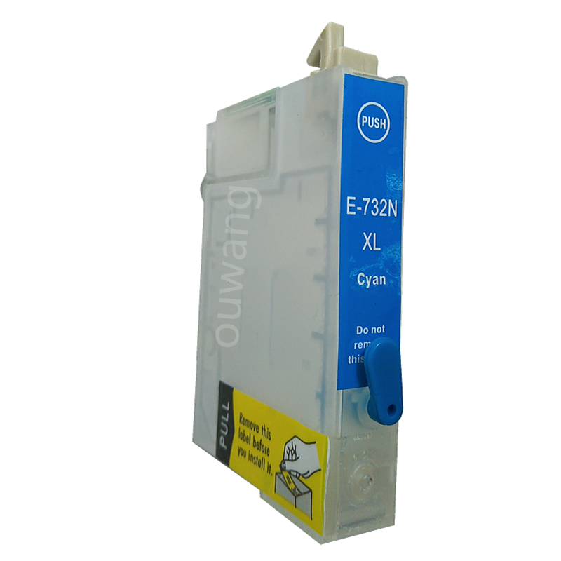 CTC T0731 T0732 T0733 T0734 73N refillable ink cartridge for epson T40 TX550 TX600 TX219 printer 400ml dye ink in Ink Refill Kits from Computer Office