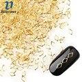 1 Pack/lote 4*5mm Glitter Clavos de Oro de Aleación Remache Estilo Japonés 3D Decoración Del Arte Del Clavo Hueco de Diamante diseño Accesorio PJ490