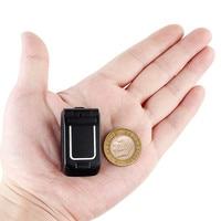 Cell Phone Mini Flip Mobile Phone LONG CZ J9 0.66 Smallest Wireless Bluetooth Dialer FM Magic Voice Handsfree Earphone For Kids