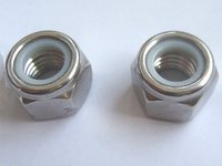 100pcs Lot M4 Nylon Insert Lock Hex Screw Nuts Slip Resistant For Tyre Robot