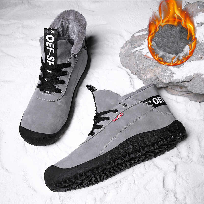 Мужские ботинки timber туфли без каблука 2018 зимняя обувь Для мужчин  Рабочая обувь сапоги плюс Размеры 182deae7527