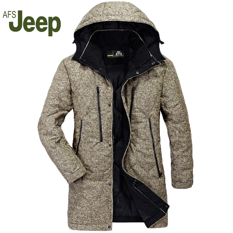 AFS JEEP men'sTops  new  winter Cotton  loose large size in the long paragraph clothe casual warm men's  Coats  Clothing 230 eichholtz настольная лампа lawson