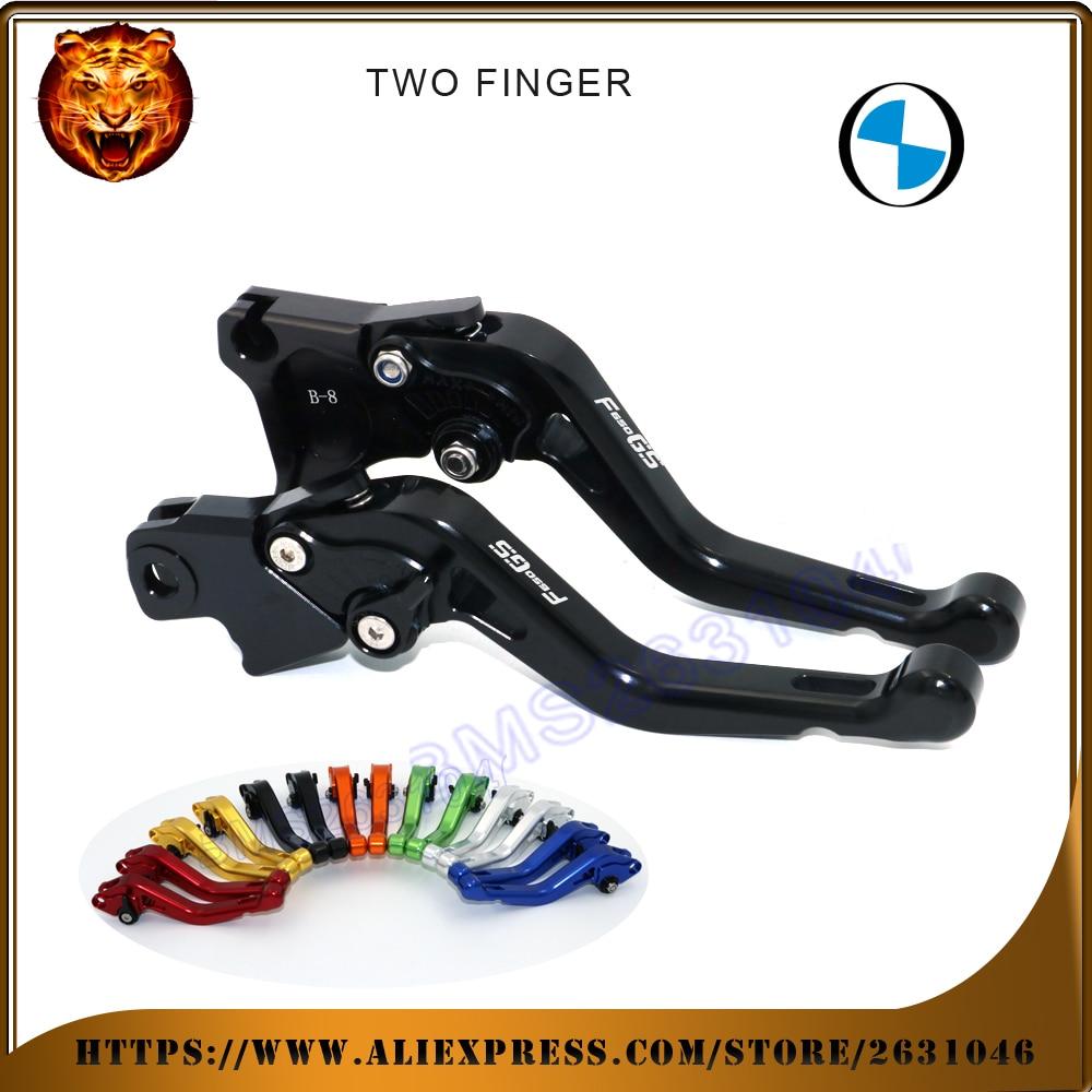 Motociklu regulējami īsie bremžu sajūga sviri BMW F650GS F650 650 - Motociklu piederumi un daļas