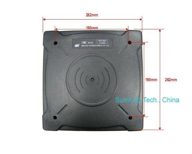 100cm Long Range Mounted 125KHz RFID Reader SL-MCR125 for EM4100 Cards Animal Ear Tag Foot Ring Farm Management System Pig Cow