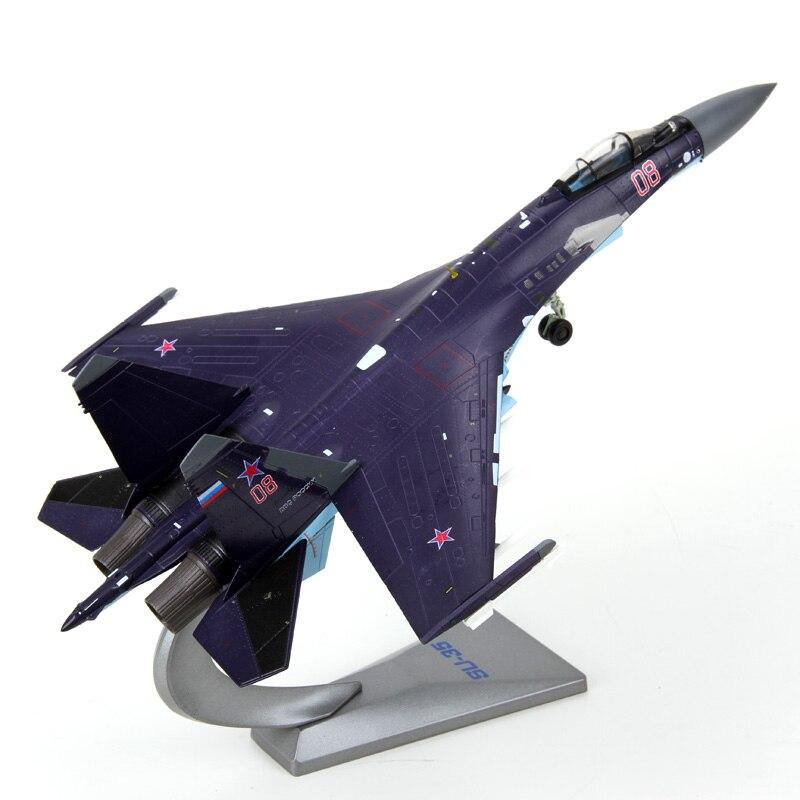 1/72 skala suchoj Su 35 Flanker E/Super Flanker Fighter Diecast Metal montażu model samolotu kolekcja zabawek oryginalne pudełko w Odlewane i zabawkowe pojazdy od Zabawki i hobby na  Grupa 1