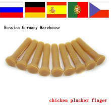 Chicken plucker wholesale rubber fingers of plucking machine rubber fingers