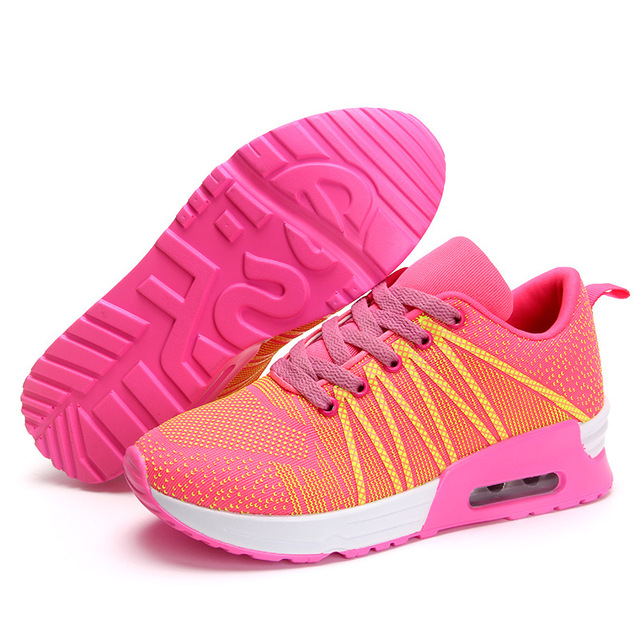 New 2017 Fashion Flats Women Trainers Breathable Sport Woman Shoes Casual Outdoor Walking Women Flats Zapatillas Mujer 663