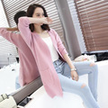 Autumn Knitted Sweater Women V-neck Cardigan Female Retro Fashion 2016 Ladies Knitting Jacquard Long Cardigan Feminino C567