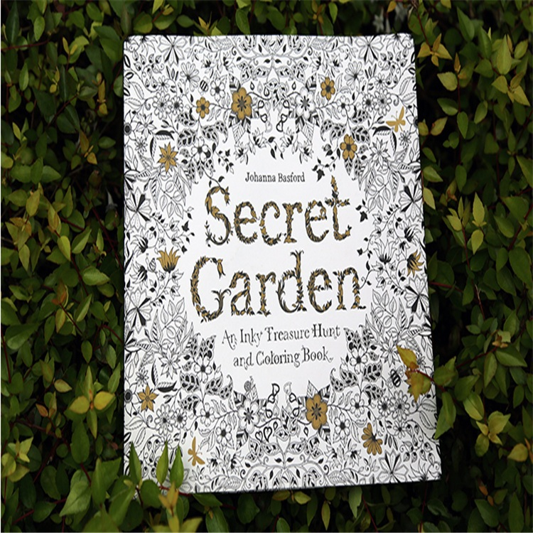 Secret Garden ENGLISH Coloring Book For Children And Adult Relieve Stress Kill Time Graffiti Painting Drawing In Books From Office School Supplies On
