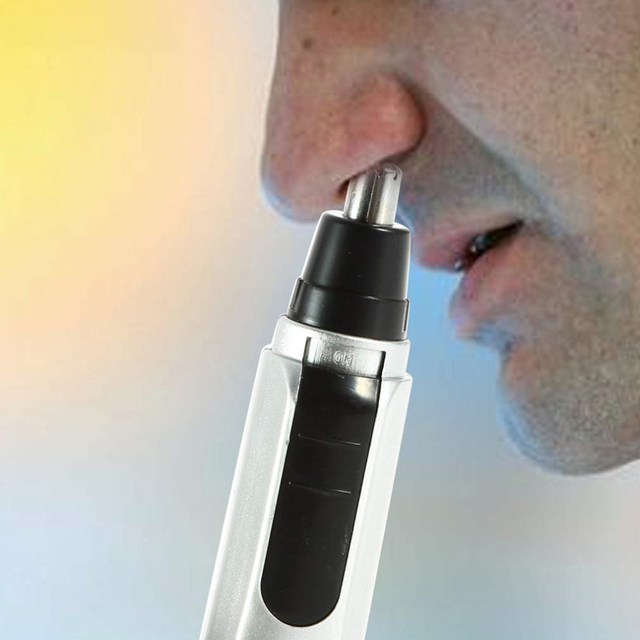 1PC Nose Ear Trimmer Electric Nose Ear Shaver Hair Clip Nose Ear Cleaner Facde Care For Men New Arrival 1PC