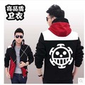 Anime One Piece Cosplay Costume Sport Sweater Casual Hoodies Jacket Coat Tops  M-2XL