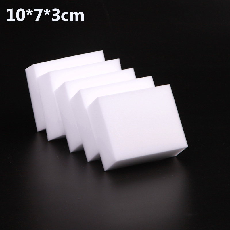 10x7x3cm 100 Pcs/lot Magic Sponge Eraser Melamine Cleaner For Kitchen Office Bathroom Cleaning