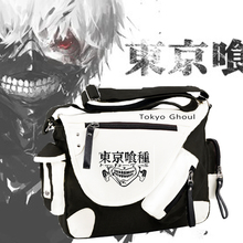 Tokyo Ghouls Ken Kaneki Fashion Unisex High Quality Cosplay Crossbody Bag Students Casual Schoolbag Messenger Bags