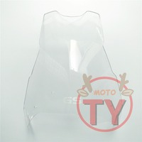 Motorcycle For BMW F800GS F700GS F650GS 2008 2009 2010 2011 2012 2013 Windscreens Spoiler Smoke Clear Windshield 08