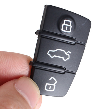Chiave Telecomando per AUDI A3,A4,A5,A6,A8,Q5,Q7,TT S LINE RS Car Key Pad Rubber 1