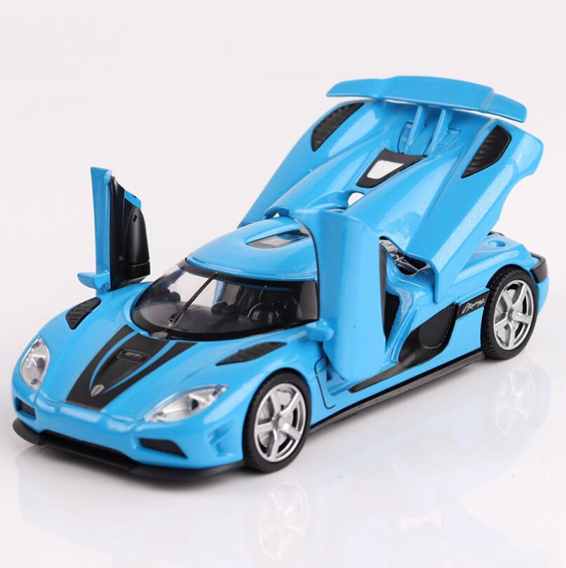 1:32 Toy Car Koenigsegg  Metal Toy Alloy Car Diecasts & Toy Vehicles Car Model Miniature Scale Model Car Toys For Children